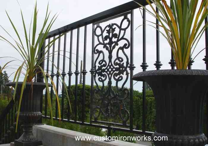 Outdoor Railings 107