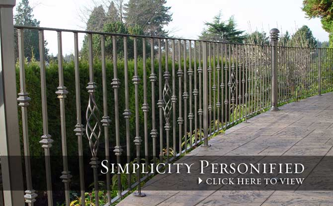 Outdoor Railings Assorted Balusters