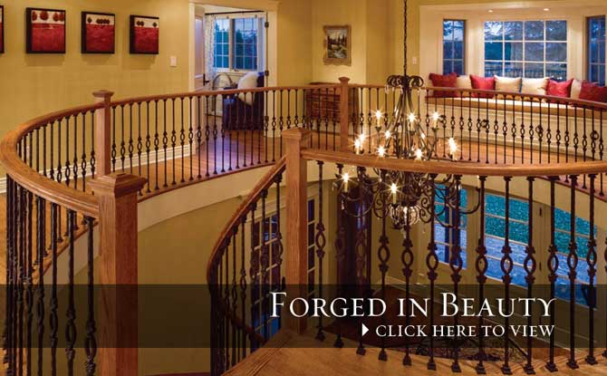 Indoor Railings Forged Balusters
